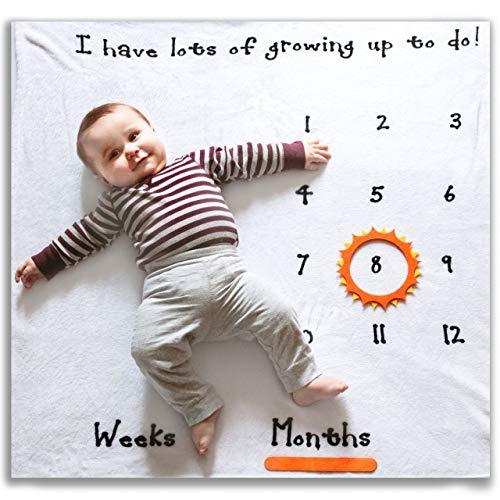 Atiti - Manta para bebé (Unisex)