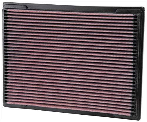 K&N 33-2703 Motorluftfilter: Hochleistung, Prämie, Abwaschbar, Ersatzfilter, Erhöhte Leistung, 1993-2012 (SLR McLaren, ML350, ML400, ML430, ML500, ML55, CLK320, ML320, andere ausgewählte modelle)