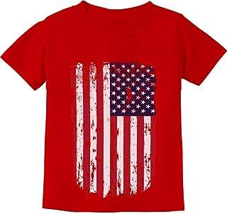 USA Vintage Flag 4th of July American Flag Infant Kids T-Shirt