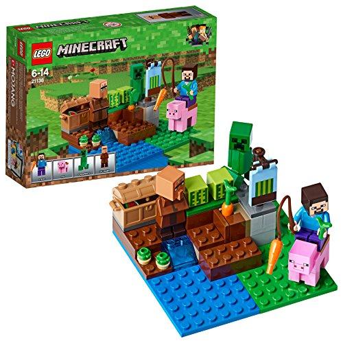 LEGO Minecraft – La culture de pastèques – 21138 – Jeu de Construction