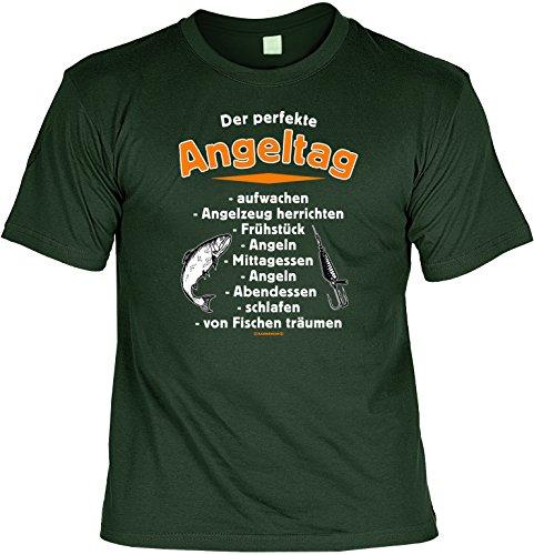 Proverbes T-shirt humoristique Le parfait Angel Journée Vert 56 Vert - Dunkel-Grün