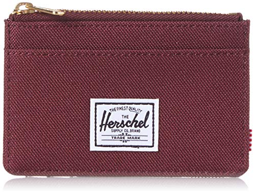 Herschel Oscar RFID - Tarjetero para Hombre Morado Talla única