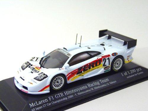 1/43 Scale Minichamps McLaren F1 GTR JGTC 2000 #21 Zero Hitotsuyama Racing Team Limited Edition of 1,200 Pcs.