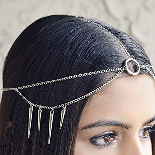 Yean Chaîne pour cheveux Accessoire de style bohème Pour femme et fille