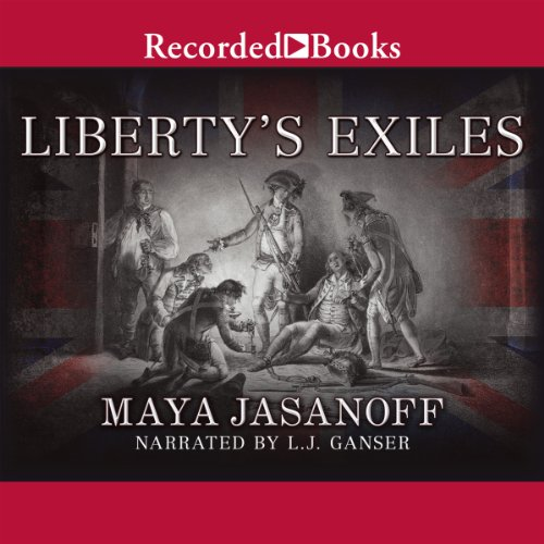 Liberty's Exiles audiobook cover art
