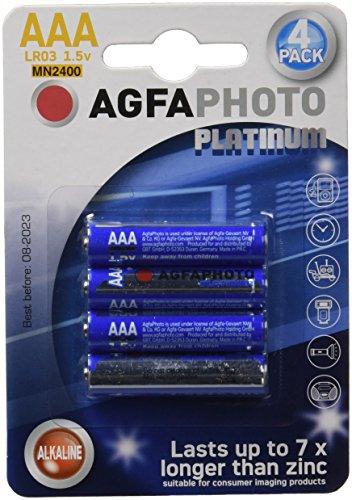AgfaPhoto Micro AAA Batterien LR03, 4er Pack