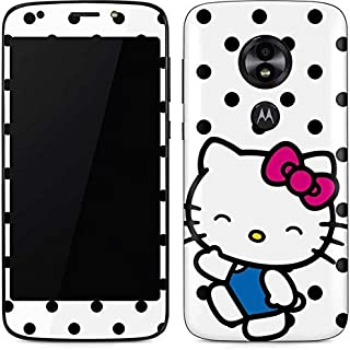 Skinit Decal Phone Skin for Moto E5 Play - Officially Licensed Sanrio Hello Kitty Waving Design