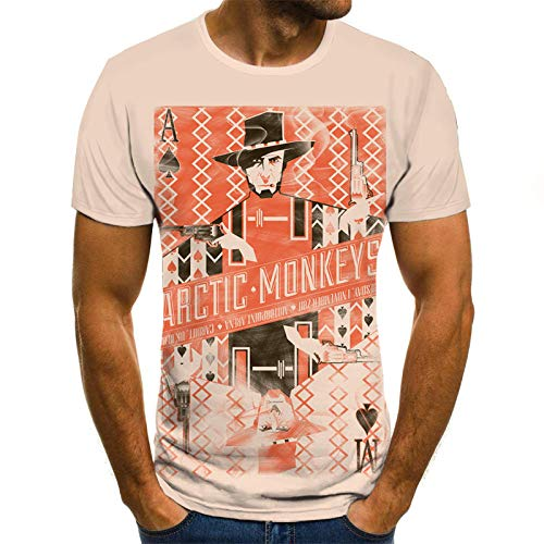 Spelen Kaarten Unisex T Shirt Zomer 3D Gedrukt Korte Mouw Slank Korte Casual Mouw Topjes O-hals Pullover Blouse Tee
