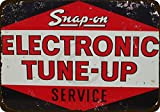 Custom Kraze Snap-On Electronic Tune-Up Service Vintage Reproduction Metal Sign 8 x 12