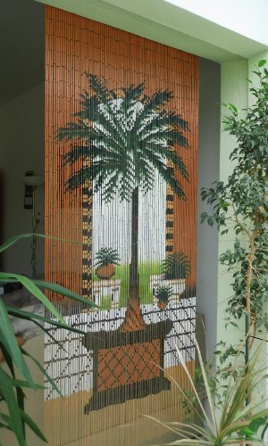 Leguana Bambustürvorhang Bambusvorhang Türvorhang Dubai XL ca. 115x220cm