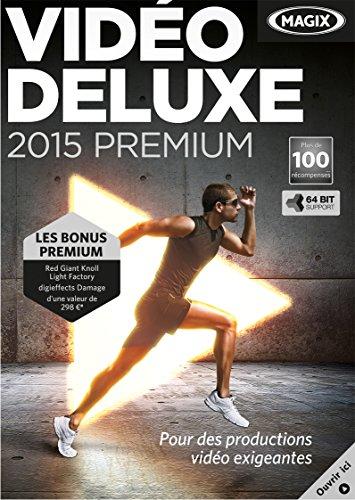 MAGIX Video Deluxe 2015 Premium [Téléchargement]