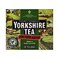 Yorkshire Hardwater Tea 80 Teabags by Yorkshire Tea