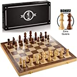 "Best Chess Sets - Chess Armory 15"" Large Magnetic Wooden Chess Set Review"