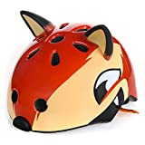 Atphfety Kids Bike Helmet Multi-Sport Helmet Cycling/Skateboard/Scooter/Skating/Roller Blading Protective Gear,from Toddler to Youth (Orange Fox, S(50-54CM))