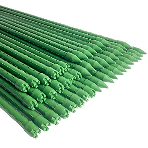WAENLIR Garden Stakes 36 inch 3ft Sturdy Plant Sticks/Support, Tomato Stakes, Pack of 30