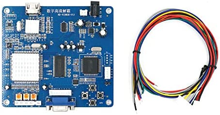 Mcbazel Arcade Game VGA RBGS RGBSHV to HDMI Game Video Output Converter Board with Cable product image