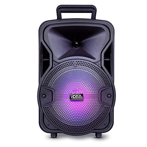 "ICON Bafle Amplificador 8"" Bluetooth"