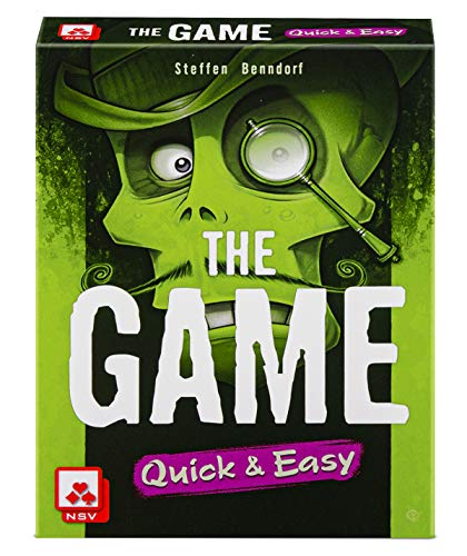 NSV - 4104 - The Game - Quick and Easy - Kartenspiel