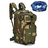 haoyk Tactical Pack Military Rucksack Outdoor Sport Hiking Trekking Camping