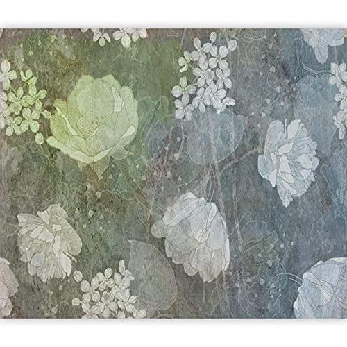 murando Fotomurales autoadhesivo Flores 49x35 cm Papel Pintado Decoración de Pared Murales...