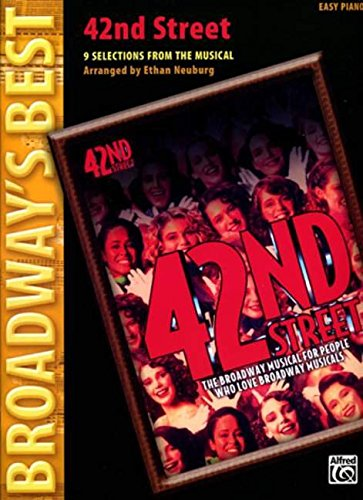 42nd Street (Selections) : for easy piano (with text)
