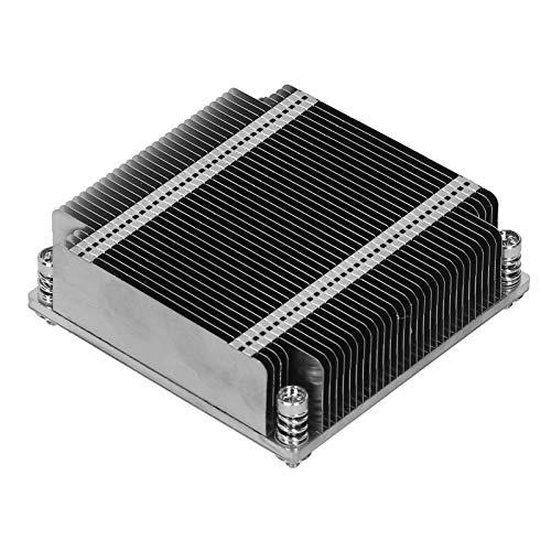 Disipador de Calor para radiador de CPU, disipador de Calor pasivo de CPU de 1U LGA2011, Piezas de disipación de Calor para Supermicro X9 / X10 1U UP y Servidor DP