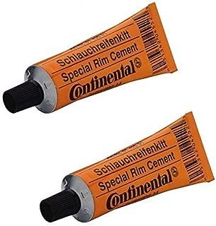 Continental 2 x Rim Glue Cement for Tubular Aluminium Rims 25g Tubes