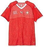 PUMA Erwachsene Suisse WMS Home Shirt Red White