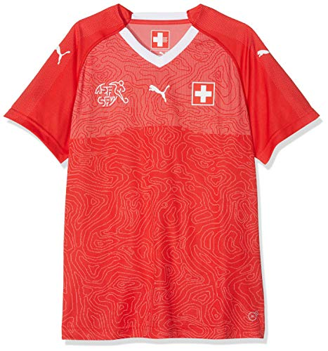 PUMA Erwachsene Suisse WMS Home Shirt Red White, L