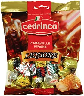 Cedrinca Assorted Liquore Candies, 4.4-Ounce Bags (Pack of 6)