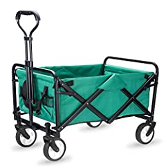 "[Compact Size] with a maximum load capacity of 120 lbs. and contains more than 3.5 cubic feet of carrying capacity. Frame Size: (L)27.5""X (W)18.5"" X (H)19"" Canvas Lining Dimensions 27.5""(L) X 18.5""(W) X 12""(D) Easy Folding - Folded Size for [Compact ..."