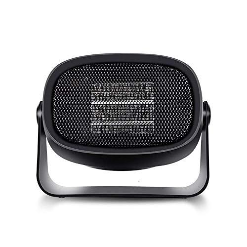 WSJTT Calefactor Mini Calentador Calentador de hogar Calentador Peque?o de Escritorio Ventilador Calentador portátil Mini Calentador de Regalo (Color:Rosa) (Color : Black)