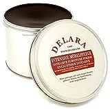DELARA Intensive Möbelpflege, sehr hochwertiges Möbelwachs mit Bienenwachs und Kokosöl, 500 ml, braun – Made in Germany