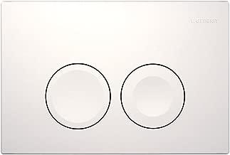 double Chrom/é mat//brillant//mat 1/Sigma30/t/él/écharger Geberit Twinline 115.888.46.1/WC plaque murale 115.883 KN