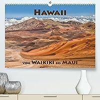 Hawii von Waikiki bis Maui (Premium, hochwertiger DIN A2 Wandkalender 2022, Kunstdruck in Hochglanz): Hawaii - der 50. Bundesstaat der USA. Die Inselkette bildet die noerdliche Spitze des polynesischen Dreiecks. (Monatskalender, 14 Seiten )