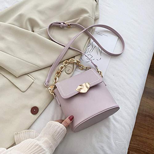 PANZZ Bucket Bag Crossbody Bags Women Summer Shoulder Sacs à Main, Violet, Mini