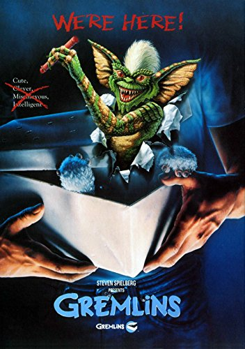 Gremlins We're Here Poster
