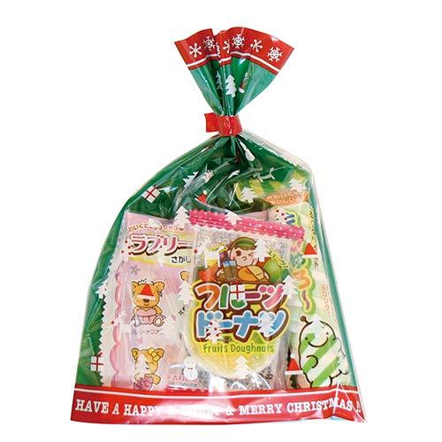 クリスマス袋 110円 お菓子 詰め合わせ(Bセット) 駄菓子 袋詰め おかしのマーチ