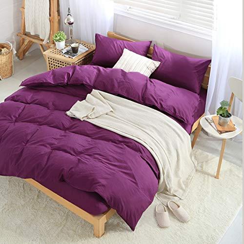 ALRZ Sábanas bajas: juego de sábanas bajeras suaves y profundos solo para dormir bien