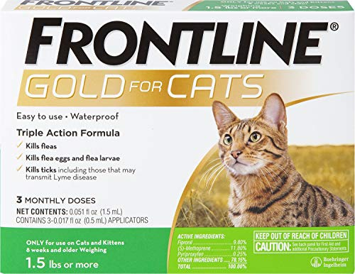 Frontline Gold for Cats (3 Month)
