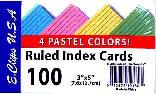 Index cards 3