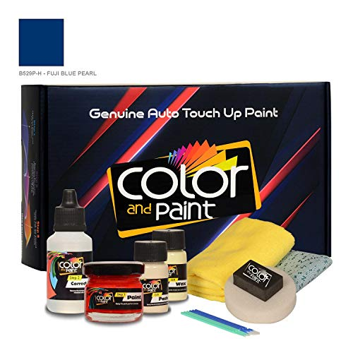 Color and Paint Compatible with/Acura CSX/Fuji Blue Pearl - B529P-H/Touch UP Paint System for Paint Chips and Scratches/Basic Care
