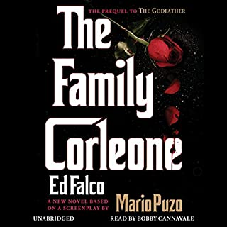 The Family Corleone audiobook cover art