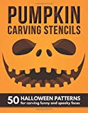 Pumpkin Carving Stencils: 50 Halloween Patterns | Templates for Carving Funny and Spooky Faces