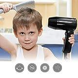 Secador de pelo portátil de 12 V para coche frío y caliente, con mango plegable, ideal para vacaciones y viajes