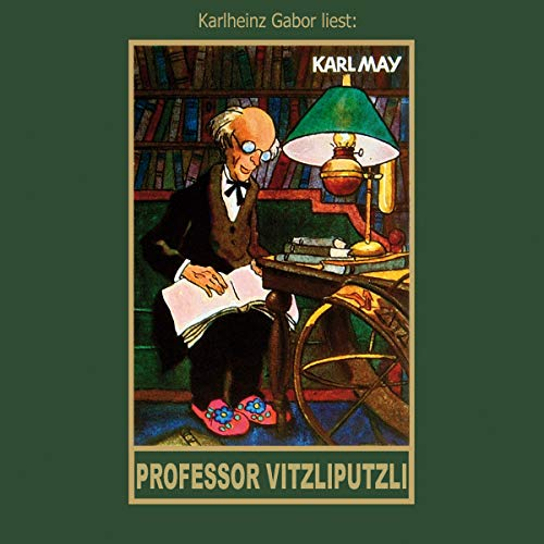 Professor Vitzliputzli audiobook cover art
