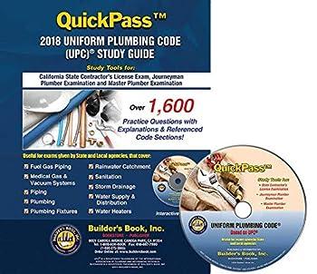 Uniform Plumbing Code  UPC ® QuickPass Study Guide based on 2018 UPC