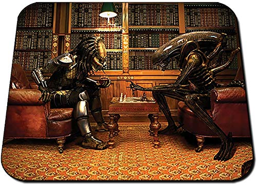 Alien Vs Predator Ajedrez Chess AVP Alfombrilla Mousepad PC
