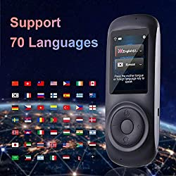 Image: TLMYDD Intelligent Language Interpreter Device, 2.4-inch Capacitive Touch Screen Supports Multi-Language Free Translation Machine Translator