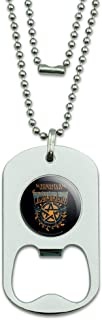 GRAPHICS & MORE Supernatural The Winchester Bros Military Dog Tag Bottle Opener Pendant